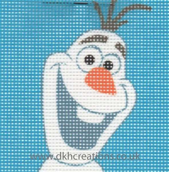 Disney Frozen Olaf Cross Stitch Kit